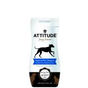 Sampon natural pentru blana alba stralucitoare, 240ml, Attitude