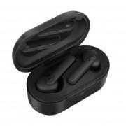 JEDX-DT5 TWS Bluetooth 5.0 Earphones Wireless Binaural Sports Headphones Mobile Power Bank Charging Box - Black