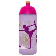 Kulacs, higiénikus műanyagból, 0,7L, FREEWATER Jóga, lila (FW0705013)