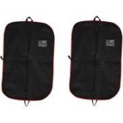 PRAHAN INTERNATIONAL Men's Coat Blazar Cover Bag Suit cover Pack of2 PIS-C2B061(Black)