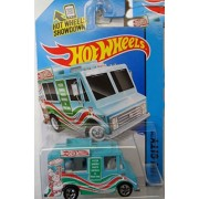 Hot wheels blue sweet streets ice cream truck 9/250