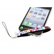 iPhone Strap Diamond (Rainbow)