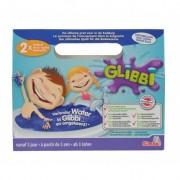 Glibbi Slime Pudra pentru baie, 2 pack, albastru
