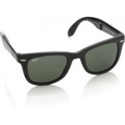Ray-Ban Wayfarer Sunglasses(Green)