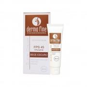 Protetor Solar 60ml Bege Escuro Derma Fine