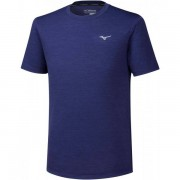 Mizuno Impulse Core Shirt Men - Male - Blauw - Grootte: Extra Large