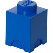 Cutie depozitare LEGO 1x1 albastru inchis 40011731