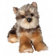 Merkloos Luxe knuffel pup Yorkie 30 cm