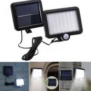 56 LED -es napelemes lámpa - vízálló, mozgásérzékelő