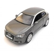 Kinsmart 1:32 Scale Model 2010 Audi A1 | Pull Back and Go | Openable Doors | Metal Body | Small Size | Grey