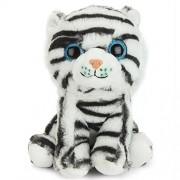Grab Offers Soft Plush Stuffed Cute Little White Tiger For Kids And Loved Ones.(9 Inch)