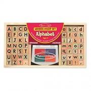 Melissa & Doug 3557 Alphabet Stamp Set
