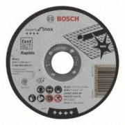 Disc de taiere plan inox Bosch - Rapido Standard AS 60 T INO 115 mm 25 buc.per pachet
