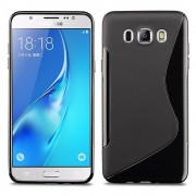 Hq-Cloud Coque Gel Silicone S-Line Pour Samsung Galaxy J5 2016 J510fn/ J510f - Noir