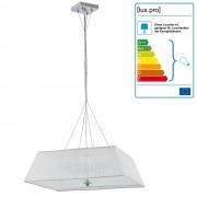 [lux.pro]® Dekoratívna dizajnová design závesná lampa / stropná lampa - biela (4 x E14)