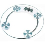Deep Econotech glass personal scale Weighing Scale(White)
