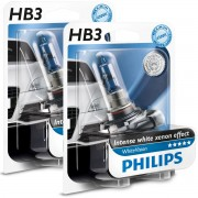 Pack 2 ampoules Philips HB3 9005 White Vision