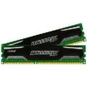 Ballistix Sport - DDR3 - 8 Go : 2 x 4 Go - DIMM 240 broches - 1600 MHz / PC3-12800 - CL9 - 1.5 V - mémoire sans tampon - non ECC
