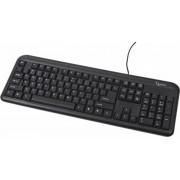 Tastatura GEMBIRD; model: KB-U-103; layout: US; NEGRU; USB;