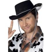 Palarie Cowboy neagra