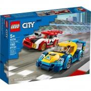 Lego set de construcción lego city autos de carreras 60256