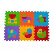 Babyono Puzzle Piankowe 277 - Zwierzęta