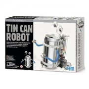TS-3653/CS2 Casepack of 2 Tin Can Robots - Green Science Recycle Project Kits