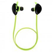 X13 BT manos libres estereo estereo en el oido con microfono - negro + verde