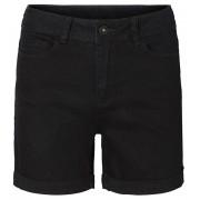 Vero Moda Dámské kraťasy Hot Seven Nw Dnm Fold Shorts Mix Noos Black XS