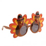 Tradico® Funny Turkey Glasses Thanksgiving Eyeglasses Christmas Party Favor Gift Toy