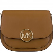 Lillie Small Leather Saddle Bag