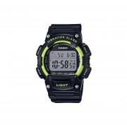 Reloj CASIO W-736H-3AVCF 10 Year Battery Collection Digital Alerta Vibratoria/Dual Time-Negro