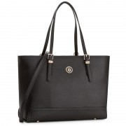 Geantă TOMMY HILFIGER - Honey Med Tote AW0AW04547 002