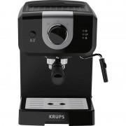Espressor manual Krups XP320830, 1050 W, 1.5 L, 15 bar, Dispozitiv spumare, Negru