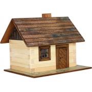 WALACHIA fa építőjáték modell - kunyhó