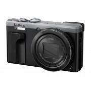Panasonic Cámara Compacta PANASONIC DMC-TZ80EG-S (Negro / Gris - 18.1 MP - ISO: 80/6400 - Zoom Óptico: 30x)