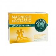 Carlo erba magnesio e potassio gusto arancia integratore 20 bustine