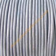 Cordon cuero color lavanda (precio por 50 cm )