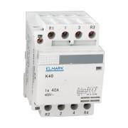CONTACTOR MODULAR K40 63A 230V 2NO +2NC