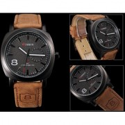 CURREN Luxury Star Fashion Casual Quartz Wrist watch for man 6 month warranty