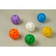 Floorball labda extra szett ultra soft puha biztonsági anyagból, gyermekenek iskolai óvódai és hobby