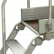 Facal Diva Überstieg 60° Plattform 90x53cm 8 Stufen