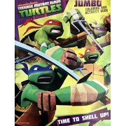 Teenage Mutant Ninja Turtles Jumbo Coloring and Activity Book ~ Time to Shell Up
