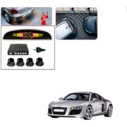 Auto Addict Car Black Reverse Parking Sensor With LED Display For Audi R8