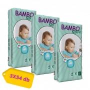 Bambo Nature öko pelenka, Junior 5, 12-22 kg, HAVI PELENKACSOMAG 3x54 db