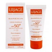 Uriage Îngrijire a feței și corpului Cremă Minerală pentru Față și Corp SPF 50+ Bariésun (Very High Protection Mineral Cream) 50 ml