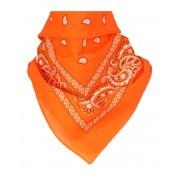 Boerenzakdoek / bandana in oranje