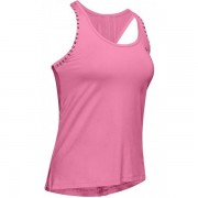 Under Armour Knockout Tanktop Women - Female - Roze - Grootte: Small