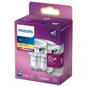 Philips 2-pack LED GU10 Spot 50W 355lm