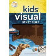 NIV Kids' Visual Study Bible, Imitation Leather, Bronze, Full Color Interior: Explore the Story of the Bible---People, Places, and History, Hardcover